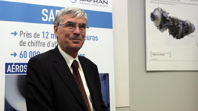 Le PDG de Safran, Jean-Paul Herteman, le 14 janvier 2012 à Gennevilliers [Pierre Verdy / AFP/Archives]