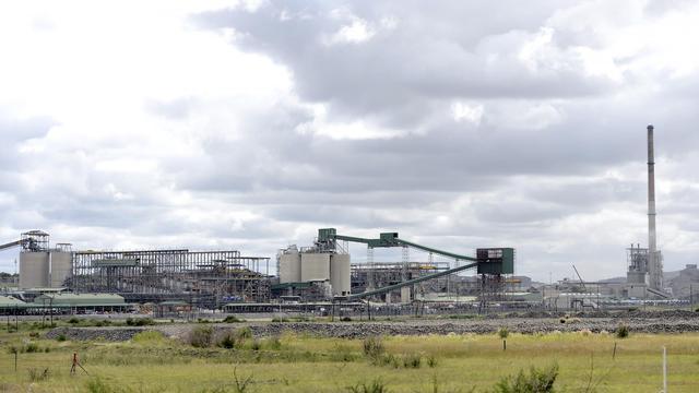 La mine de platine d'Anglo American à Rustenburg en Afrique du Sud, le 16 janvier 2013 [Stephane de Sakutin / AFP/Archives]