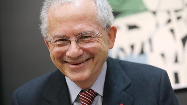 Olivier Schrameck, le président du Conseil supérieur de l'audiovisuel (CSA), le 23 janvier 2013 à Paris [Thomas Samson / AFP/Archives]