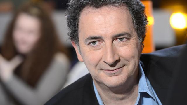 Le comédien, humoriste et chroniqueur François Morel, le 31 janvier 2012 à Aubervilliers près de Paris [Bertrand Guay / AFP/Archives]