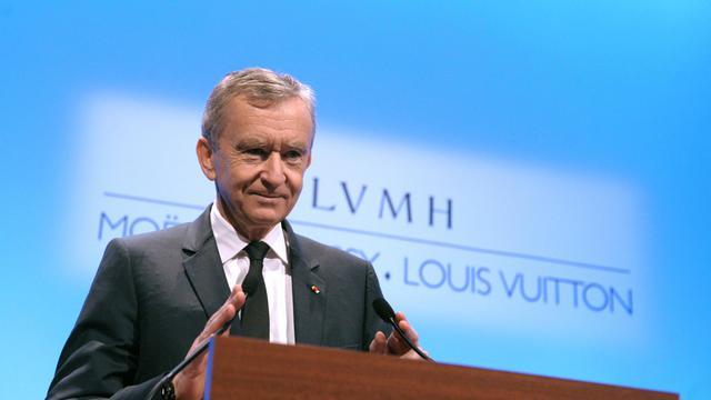 Le PDG du groupe LVMH, Bernard Arnault, le 31 janvier 2013 à Paris [Eric Piermont / AFP/Archives]