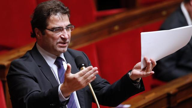 Le chef de file des députés UMP, Christian Jacob, à l'Assemblée nationale, le 7 fvérier 2013 [Pierre Verdy / AFP/Archives]