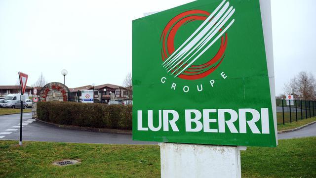Une photo prise le 11 février 2013 à l'entrée du goupe Lur Berri à Aïcirits dans le sud-ouest [Gaizka Iroz / AFP/Archives]