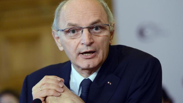 Le premier président de la Cour des comptes, Didier Migaud, donne une conférence de presse, le 12 février 2013 à Paris [Bertrand Guay / AFP/Archives]