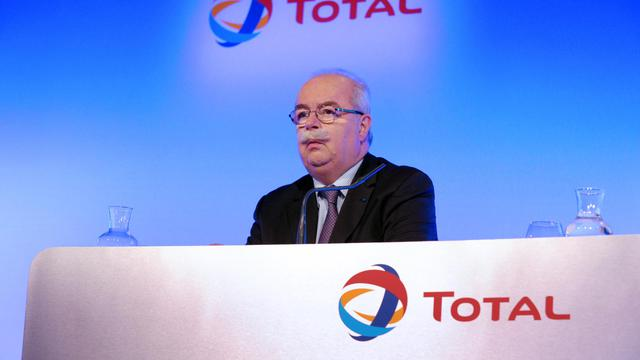 Le PDG de Total, le 13 février 2013 à Paris [Eric Piermont / AFP/Archives]