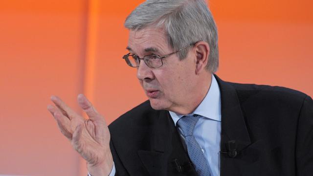 Philippe Varin président du directoire de PSA Peugeot Citroën le 13 février 2013 à Paris [Eric Piermont / AFP/Archives]
