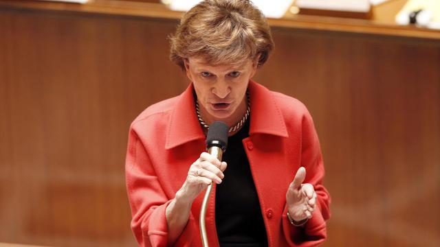 La ministre aux Personnes âgées Michèle Delaunay s'exprime le 13 février 2013 à l'Assemblée [Francois Guillot / AFP/Archives]