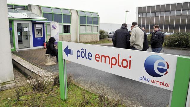 Agence de Pôle emploi à Nantes, le 13 février 2013 [Alain Lemasson / AFP/Archives]