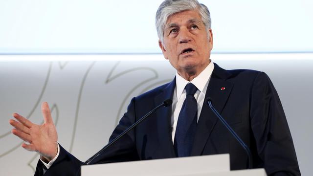 Le patron du groupe Publicis, Maurice Levy, le 14 février 2013 à Paris [Patrick Kovarik / AFP/Archives]