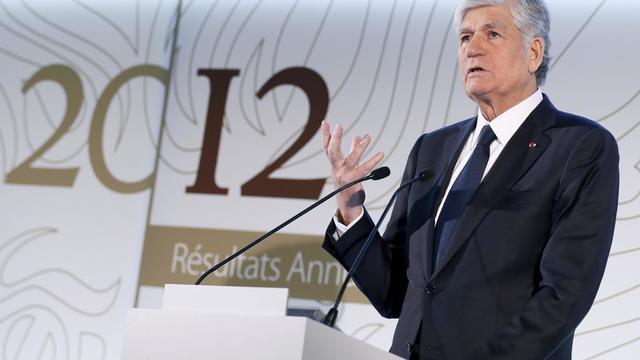 Le président du directoire de Publicis Maurice Lévy , le 14 février 2013 à Paris [Patrick Kovarik / AFP/Archives]