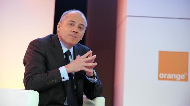 Stéphane Richard le 20 février 2013 à Paris [Eric Piermont / AFP/Archives]