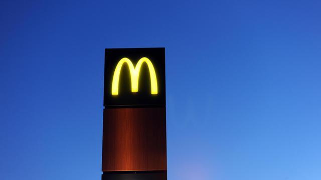 Le logo d'un restaurant McDonald's [Fred Tanneau / AFP/Archives]