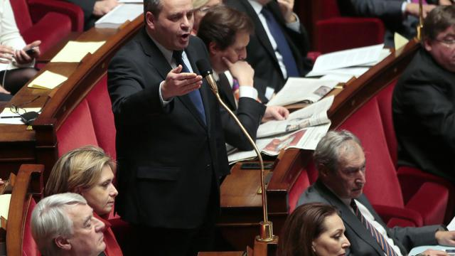 Xavier Bertrand, le 20 février 2013, lors de la session des questions à l'Assemblée nationale [Jacques Demarthon / AFP/Archives]