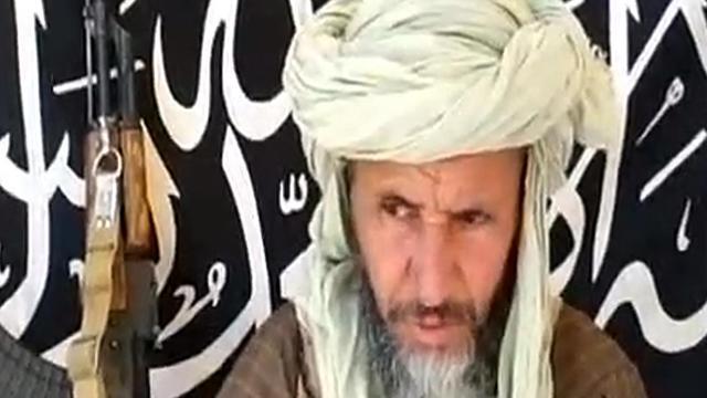 Photo transmise le 25 décembre 2012 par Sahara Media d'Abdelhamid Abou Zeïd, l'un des chefs d'Al-Qaïda au Maghreb islamique (Aqmi) [ / Sahara Media/AFP/Archives]