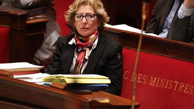 La ministre de l'Enseignement supérieur, Geneviève Fioraso, à l'Assemblée nationale, le 11 mars 2013 [Thomas Samson / AFP/Archives]