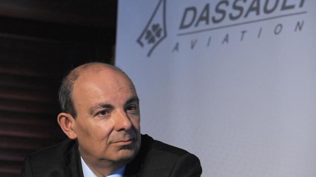 Le PDG de Dassault Aviation, Eric Trappier, le 14 mars 2013 à Paris [Eric Piermont / AFP/Archives]