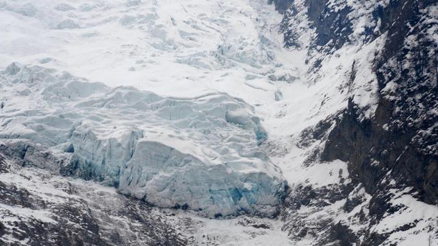 Le glacier des Bossons, à Chamonix [Jean-Pierre Clatot / AFP/Archives]