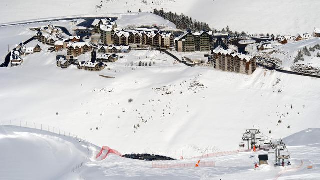 Station de ski dans les Pyrénées [Gaizka Iroz / AFP/Archives]