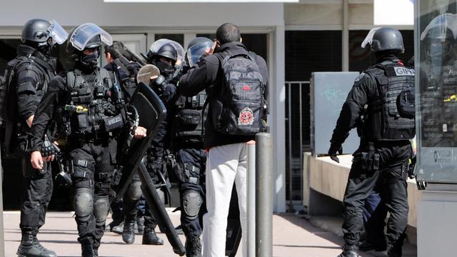 Des membres du GIPN, le 19 mars 2013 à Marseille [Anne-Christine Poujoulat / AFP/Archives]