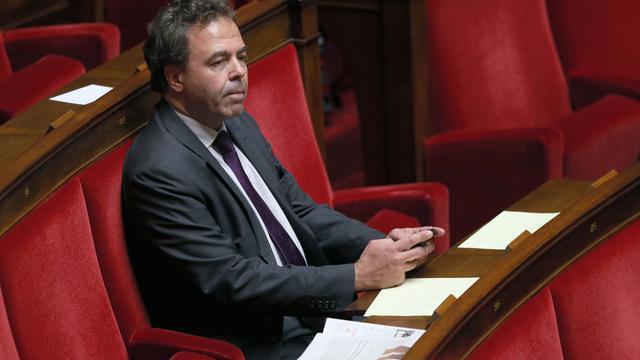 Le député UMP Luc Chatel, le 19 mars 2013 à l'Assemblée [Patrick Kovarik / AFP/Archives]