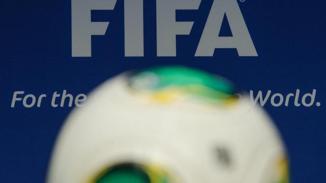 Le logo de la Fifa [Sebastien Bozon / AFP/Archives]