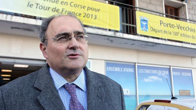 Le député radical Paul Giacobbi, le 21 mars 2013 à Porto Vecchio [Pascal Pochard-Casbianca / AFP/Archives]