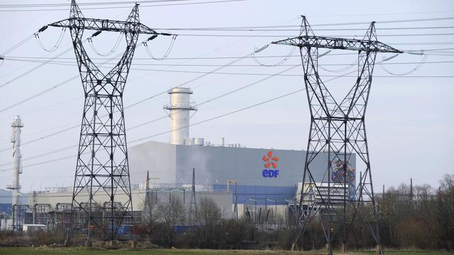 Des pylones électriques d'EDF dans l'est de la France [Jean-Christophe Verhaegen / AFP/Archives]