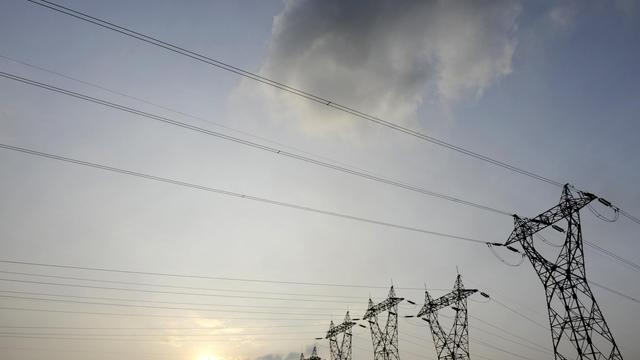 Des pylones électriques d'EDF, le 21 mars 2013 [Jean-Christophe Verhaegen / AFP/Archives]