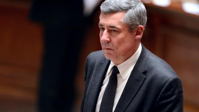 Le député UMP Henri Guaino, le 26 mars 2013 à Paris [Eric Feferberg / AFP/Archives]