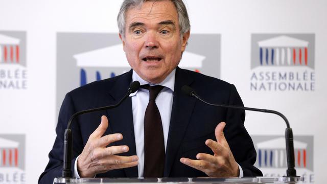 Bernard Accoyer (UMP), le 27 mars 2013 à l'Assemblée nationale [Pierre Verdy / AFP/Archives]