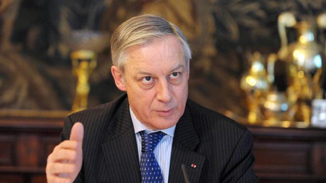 Le gouverneur de la Banque de France, Christian Noyer, le 28 mars 2013 à Paris [Eric Piermont / AFP/Archives]