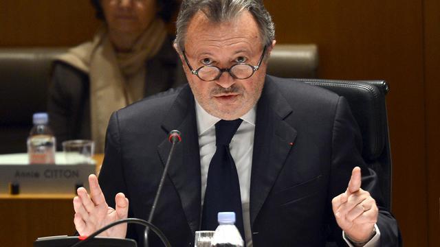 Jean-Noël Guérini, le sénateur PS des Bouches-du-Rhône, au Conseil Général, le 29 mars 2013 [Gerard Julien / AFP/Archives]