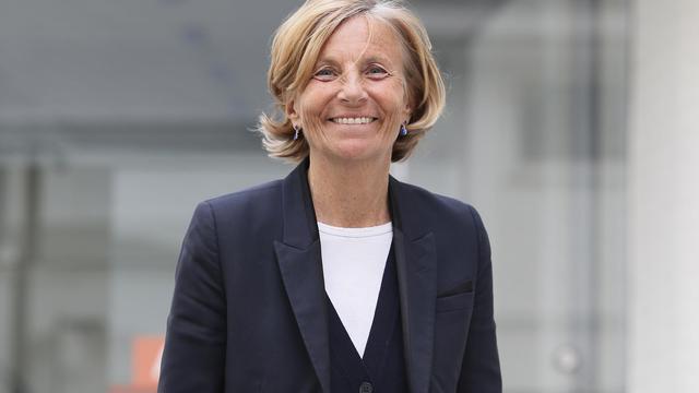 Marielle de Sarnez, vice-présidente du MoDem de François Bayrou et candidate aux élections municipales à Paris en 2014, le 3 avril 2013 à Paris [Kenzo Tribouillard / AFP/Archives]