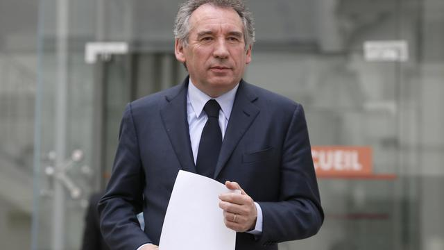 François Bayrou le 3 avril 2013 ausiège du MoDem à Paris [Kenzo Tribouillard / AFP/Archives]