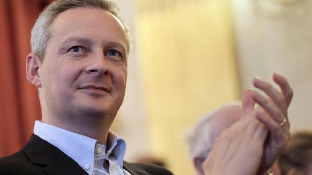 L'ex-ministre UMP Bruno Le Maire, le 6 avril 2013 à Paris [Kenzo Tribouillard / AFP/Archives]