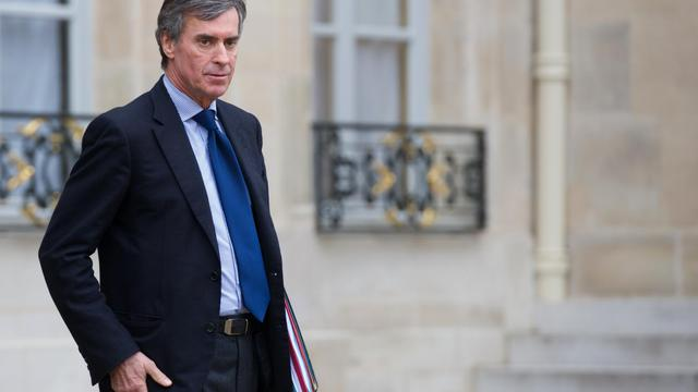 Jérôme Cahuzac, le 10 janvier 2013, à sa sortie de l'Elysée [Bertrand Langlois / AFP/Archives]