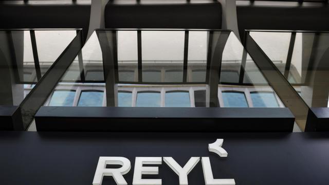 L'entrée de la banque suisse Reyl, le 8 avril 2013, à Genève [Fabrice Coffrini / AFP/Archives]