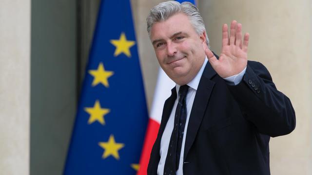Le ministre français des Transports, Frédéric Cuvillier arrive à l'Elysée, le 8 avril 2013 [Bertrand Langlois / AFP/Archives]