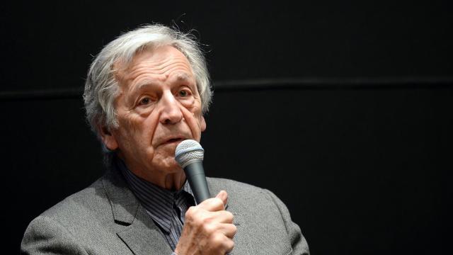 Le réalisateur franco-grec Costa Gavras, le 8 avril 2013 à Paris [Martin Bureau / AFP/Archives]