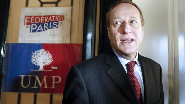 Le président de la fédération UMP de Paris Philippe Goujon, le 9 avril 2013 à Paris [Patrick Kovarik / AFP/Archives]
