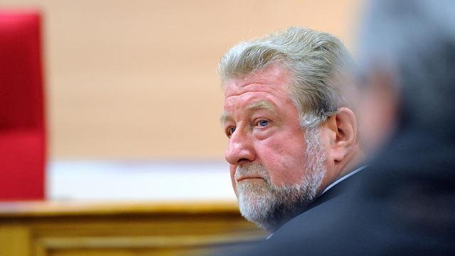 L'ex-député PS Jean-Pierre-Kucheida, le 9 avril 2013 au tribunal correctionnel de Douai [Denis Charlet / AFP/Archives]