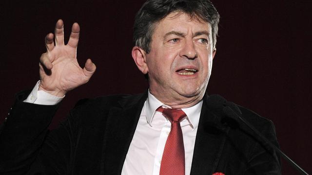 Jean-Luc Mélenchon, le coprésident du Parti de gauche, à Montpellier, le 11 avril 2013 [Pascal Guyot / AFP/Archives]