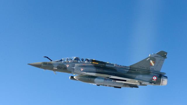 Un avion militaire de type Mirage 2000 [Miguel Medina / AFP/Archives]