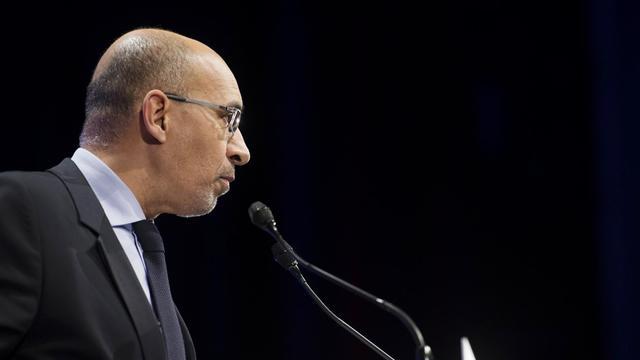 Le secrétaire général du Parti socialiste, Harlem Désir, le 13 avril 2013 à Paris [Fred Dufour / AFP/Archives]