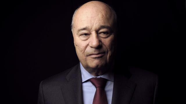 Jean-Michel Baylet, sénateur et président du Parti radical de gauche (PRG), le 11 janvier 2012 à Paris [Fred Dufour / AFP/Archives]