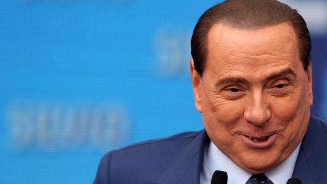L'ancien Premier ministre Silvio Berlusconi, le 13 avril 2013 à Bari [ / AFP/Archives]