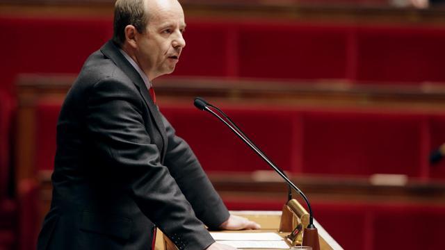Le président de la commission des Lois de l'Assemblée, Jean-Jacques Urvoas (PS), à l'Assemblée nationale [Kenzo Tribouillard / AFP/Archives]