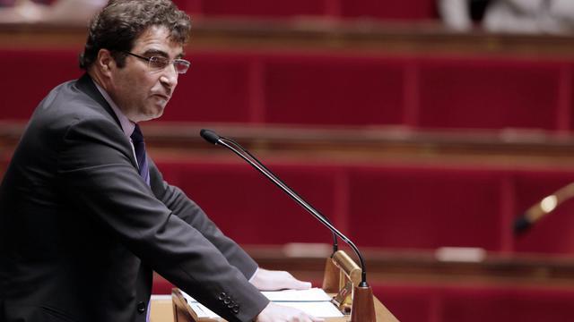 Le président du groupe UMP à l'Assemblée, Christian Jacob, le 17 avril 2013