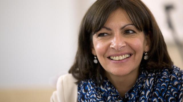 La première adjointe du maire de Paris, Anne Hidalgo, le 19 avril 2013 lors d'une réunion publique à Paris [Patrick Kovarik / AFP/Archives]