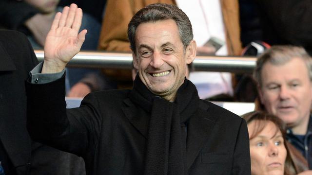 L'ancien président français Nicolas Sarkozy, le 21 avril 2013 à Paris [Franck Fife / AFP/Archives]